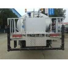Alto eficiente Dongfeng mini 3ton espalhador de asfalto, 4x2 caminhão asfalto venda