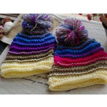 POM Poms Cute Winter Hats for Girls