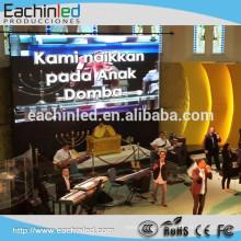 Spuer mince hd p3.91 500mmx1000mm écran d'affichage intérieur conduit panneau publicitaire de mur vidéo