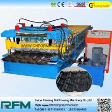 FX laminado em telha galvanizada máquina de formação de rolo de telha