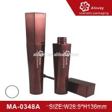 Round forma personalizada Crown Matte Mascara garrafa