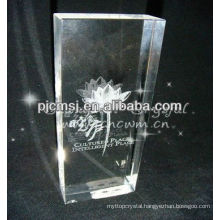 3D Laser Leaf Crystal For Table Decorations