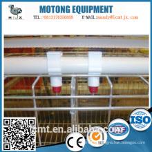 Tubería de agua redonda de PVC para el sistema especial de agua potable de pollo para asar