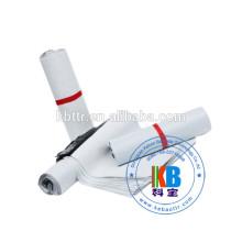 2 cores que imprimem o saco de plástico poli branco do LDPE para o transporte do correio