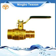 Meilleurs fabricants en Chine ProPEX LF laiton robinet à boisseau sphérique (port complet)