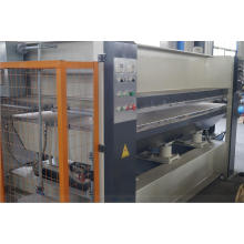 Machine de presse à chaud en bois avec film pour porte