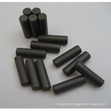 Ímã de barra de cerâmica com ferrite sinterizada permanente usado para máquina