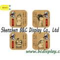 Barra de bar suministrada en fábrica, tapete de taza, almohadilla de cerveza, almohadilla de café con logotipo impreso y ilustraciones (B & C-G111)