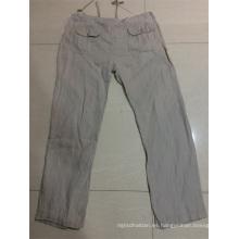 ropa larga de pantalón de los hombres