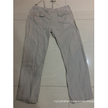 men's long pant linen