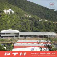 Prefabricated Design Industrial Steel Structure Warehouse From Pth