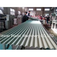Ligne d'extrusion de tuiles vitrées en PVC
