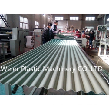 PVC Glazed Roof Tile Extrusion Line