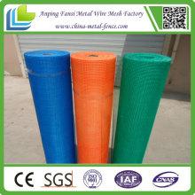160g 5X5mm Bule Farbe Alkali Resistant Wall Buliding Fiberglas Mesh für thermische Isolierung