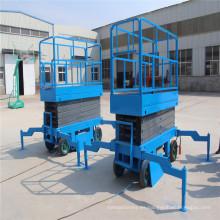 Sjy0.5-10 Plataforma elevadora de tijera propulsada auxiliar