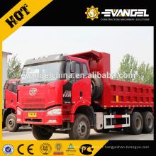 EURO 2 3 4 350hp 261KW gauche main droite Chine faw ca3250 6 x 4 camion à benne à vendre