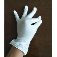 Guantes de seguridad de vinilo aprobados por la FDA para uso hospitalario.
