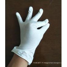 Gants de sécurité en vinyle approuvés par la FDA pour usage hospitalier