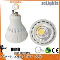Ce 7W GU10 LED para o projector do diodo emissor de luz 3years garantia