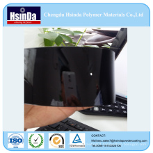 Free Sample High Glossy Black Mirror Imitation Chrome Effect Powder Coating Powder