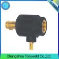 10-25mm2 TIG hembra de soldadura antorcha de cable adptor