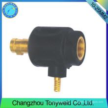 10-25мм2 ТИГ женский сварочная горелка обратный кабель adptor