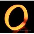 orange wide glow bracelet