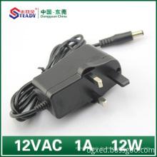 12VDC Steckertyp Netzteil 1A