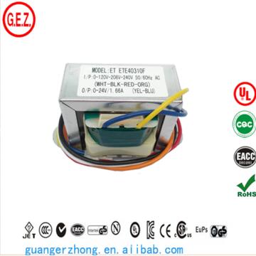 Transformador da baixa freqüência 40va ei66