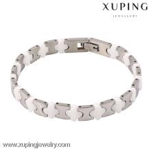 74232-xuping joyas de moda las últimas pulseras turcas de acero