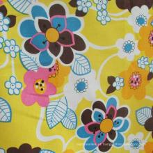 o estilo chinês 100% imprimiu a tela de seda de seda do rayon para a blusa / saia / vestido do vestuário