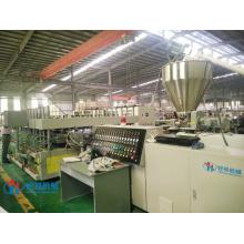 Máquina de produção de placa de armário de cozinha em PVC