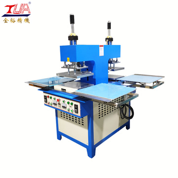 portable textile hot stamping embossing machine for fabric