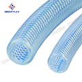 Flexible reinforced braided pvc fibre reinforced water hose