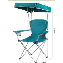 Cadeira de pesca dobrável de guarda-sol