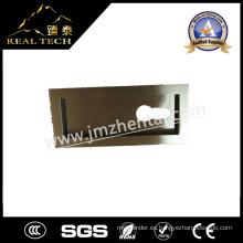 Forma de rectángulo de acero inoxidable oculto tirador de la puerta corredera