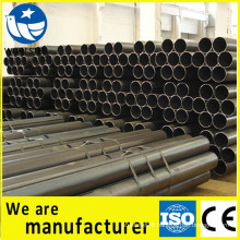 CE,FPC carbon black steel pipe construction websites