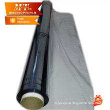 Verpackungshersteller normale klare PVC-Folie für Rollen