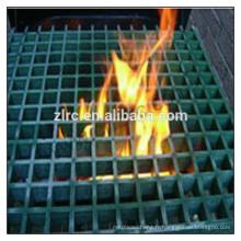 grilles anti-feu moulées et pultrudées en fibre de verre