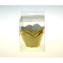 Gold / Silver foil muffin cup