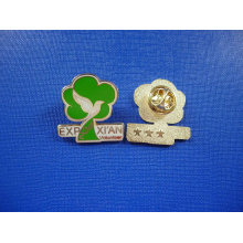 Badge doux en émail doux, goupille élastique (GZHY-FFL-007)
