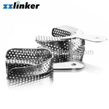 3pairs/box Stainless Steel Dental Teeth Impression Tray