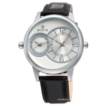 2017 Good Quality Luxury Brand Men Quartz Watches Genuine Leather Waterproof Casual Wrist