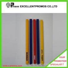 Colorido logotipo de impressão lápis de madeira carpinteiro (ep-p82956)