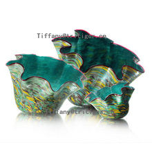 Home decoration customized glass plate