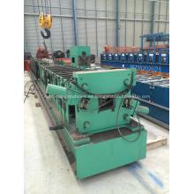 Máquina formadora de laminado en frío de canalón de acero