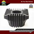Радиатор Алюминиевый подвергать механической обработке CNC Филируя Электрические запасные части с ЧПУ
