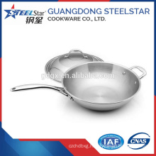 Stainless Steel Frying Pan Egg Fry Pan Cooking Pot Set Stainless Steel woks