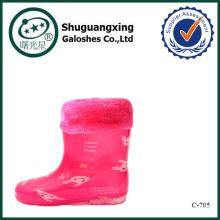 botas de lluvia Botas de los niños botas de goma lluvia C-705