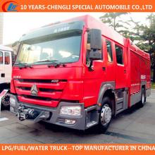 4X2 Schaum Wasser Dual Zweck Feuerwehrauto zum Verkauf